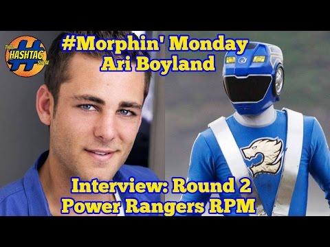 Ari Boyland Interview (Round 2)   Power Rangers RPM   That Hashtag Show