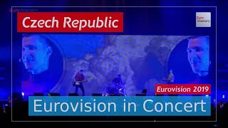 Czech Republic Eurovision 2019 Live: Lake Malawi - Friend of a Friend - Eurovision in Concert