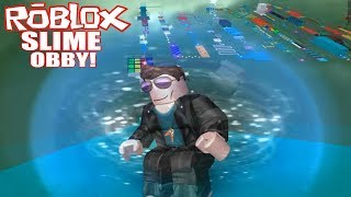 Roblox: THE STRESS IS REAL - ESCAPE THE SLIME OBBY!