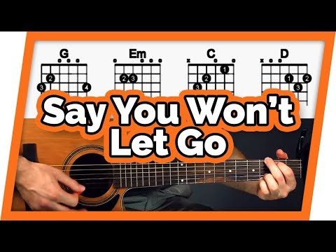 I Won\'t Let Go Chords Key of C in The
