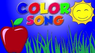 Warna Lagu Bhs Inggris | Pendidikan Video | Educational Video | Color Song In English