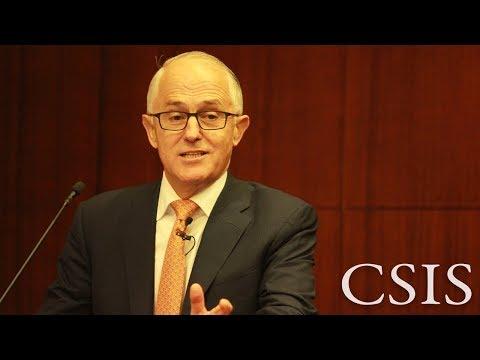 CSIS-Pertamina Banyan Tree Leadership Forum with Malcolm Turnbull