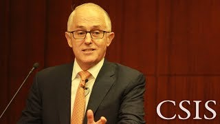 CSIS-Pertamina Banyan Tree Leadership Forum with Malcolm Turnbull