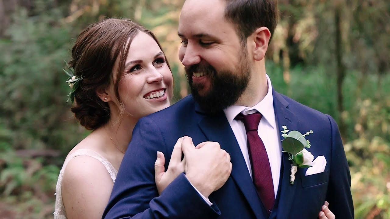 Megan and Fabio's Micro Wedding in the California Redwoods and Oregon Coast