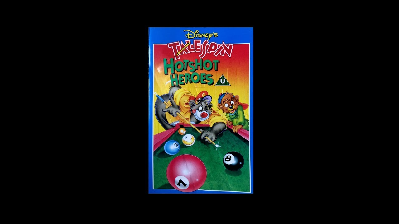 Opening To Talespin Hotshot Heroes Uk Vhs Youtube