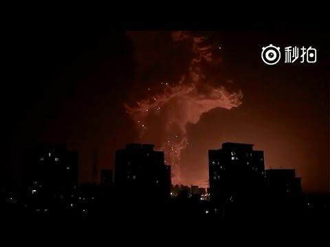 World War 3 : Apocalyptic Explosion in Tianjin China / Global Markets in Crisis (Aug 16, 2015)