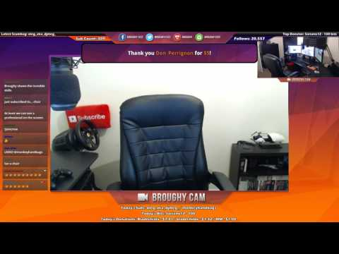 Chair Hype (Live Stream Highlight) [Twitch]