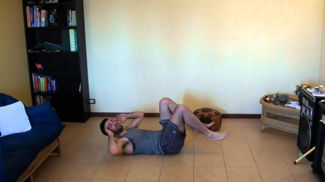 Esercizi per pettorali ed addominali allenamento - Palestra a casa esercizi ...