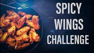 Smoking Hot Wings Challenge | Wild Wings Snake Bite Edition