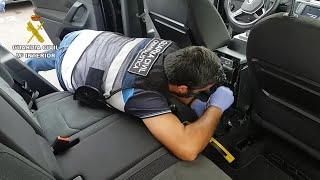 Sorprendido en el puerto de Alcúdia un belga de 67 años con 14 kg de cocaína en su coche