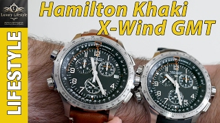hamilton Khaki Aviation X-Wind Chrono Quartz GMT Watch Review