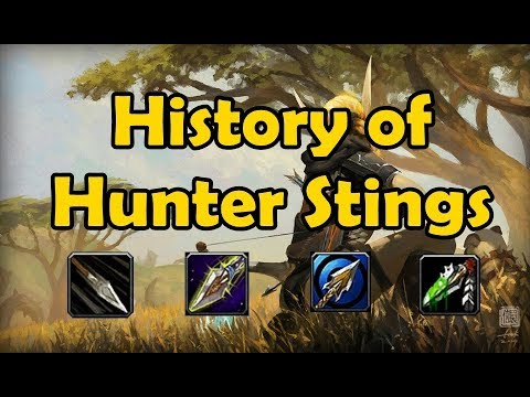 The History of Hunter Stings (Vanilla WoW to Legion)