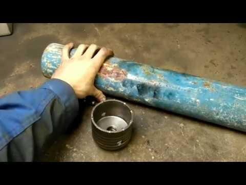 Как сделать коронку по бетону своими руками