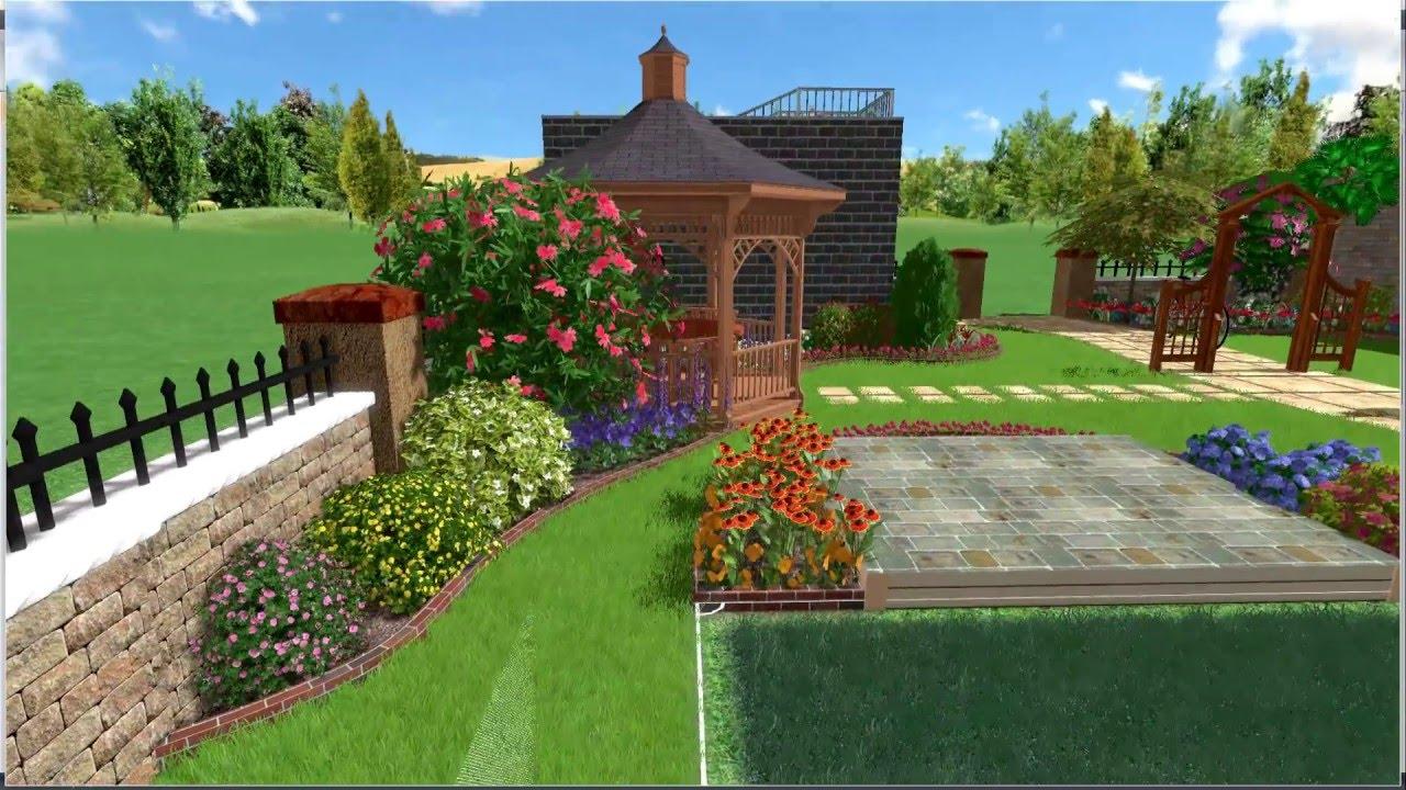 special small villa landscape design