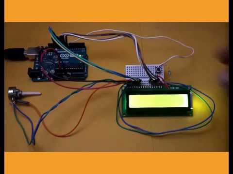 Display counter using Arduino - English