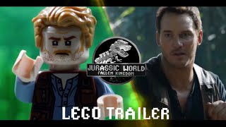 Jurassic World Trailer in LEGO Side by Side Comparison