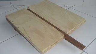 Jig Para Corte De  Círculos Na Serra Fita (bandsaw Circle Cutting Jig)
