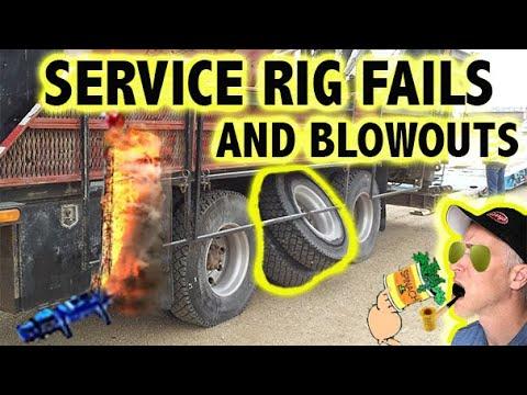 SERVICE RIG FAILS,BLOWOUTS,ACCIDENTS ,FRAC FAIL