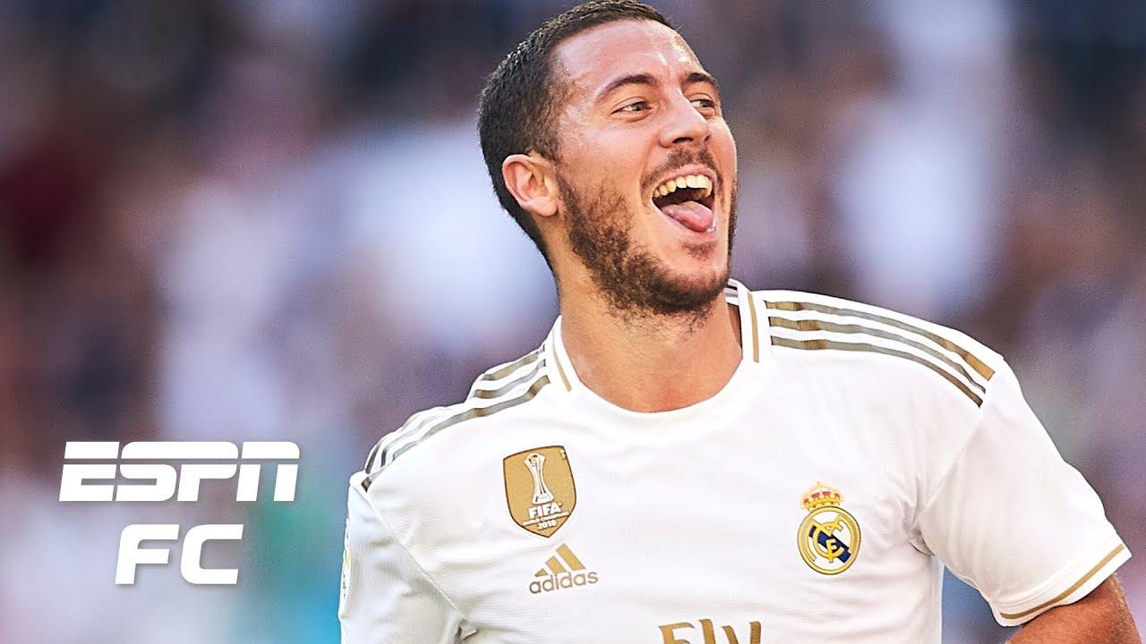 Eden Hazard Scores 1st Goal for Real Madrid in Win vs. Granada in La Liga
