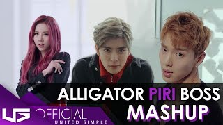 MONSTA X DREAM CATCHER - ALLIGATOR PIRI (ft. NCT U - BOSS) | KPOP MASHUP