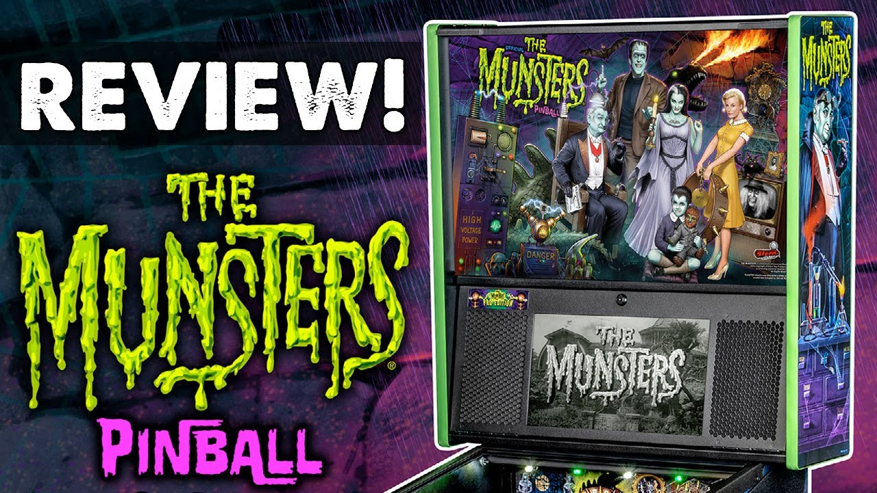 The Munsters pinball machine review (Stern Pinball, 2019)