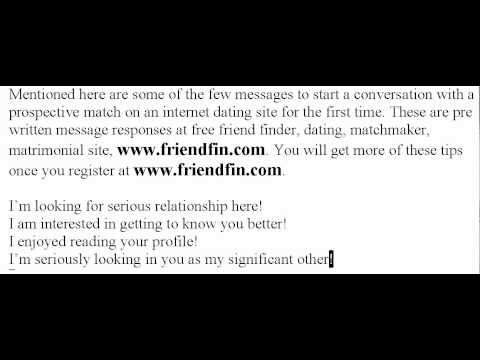 Dating Direct - Dating Tips From Friendfin -- Dating Direct Video