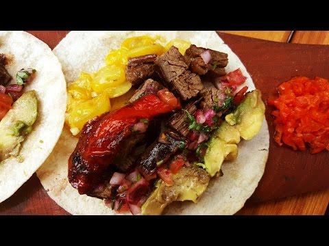 Tacos de Carne Asada - Receta Locos X el Asado
