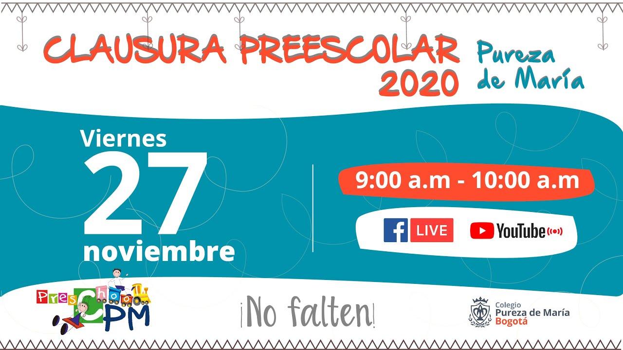 Clausura Preescolar 2020