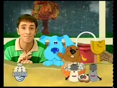 Blue Clues Blue Safari Magenta Come Over And Stop Look And Listen VHS Trailer