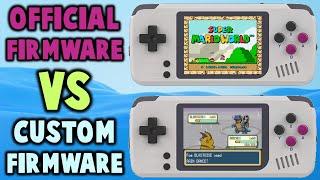 PocketGo Screen Tearing Test OFW VS CFW!