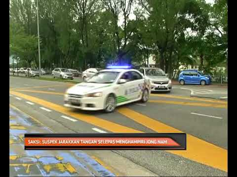 Saksi, suspek jarakkan tangan selepas menghampiri Jong Nam