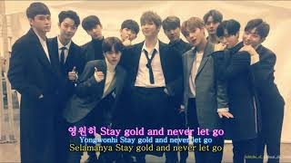 [INDO SUB] Wanna One - Gold
