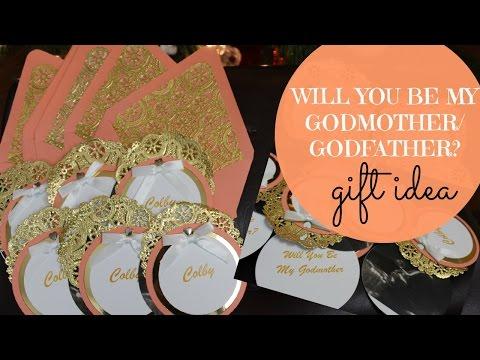 Will You Be My Godmother/Godfather? Gift Idea  (Godparents Cards) | MommyTipsByCole