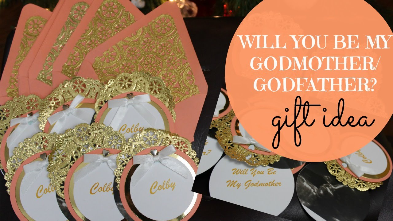will you be my godmother/godfather? gift idea (godparents cards