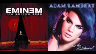 If I Had Superman - Eminem vs. Adam Lambert (Mashup)