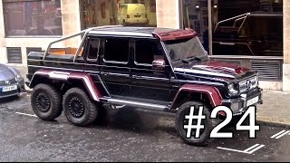 London Supercar Insanity #24 - 675LT, 250 Lusso, Brabus 6X6 + More