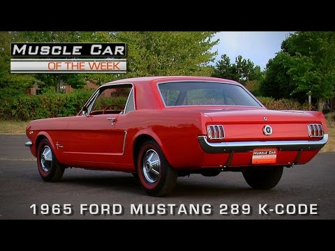1965 Ford Mustang 289 K Code 271 HP High-Compression | Sia