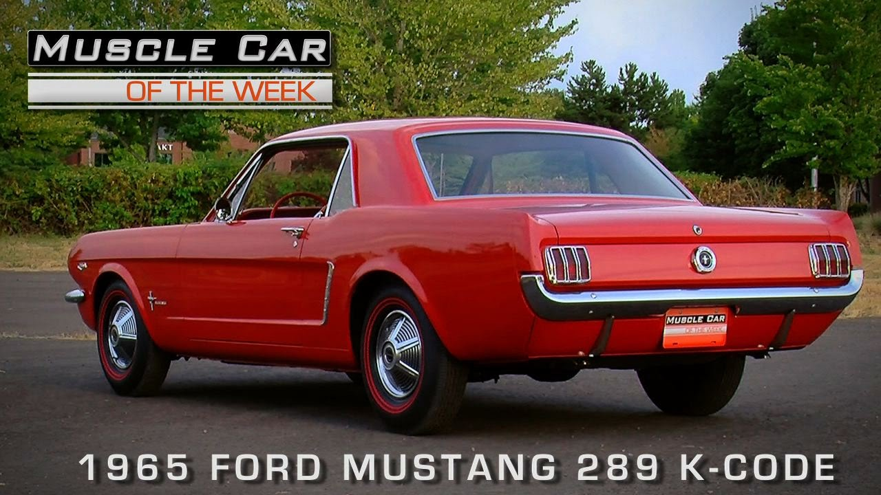 Ford Mustang 1965 Video