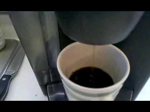 Keurig Coffee Maker Wonot Work : Keurig B50 wonot brew a full cup! - YouTube
