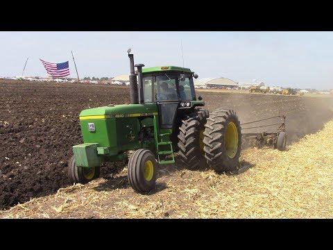 Tractors, Plows & Harvesters