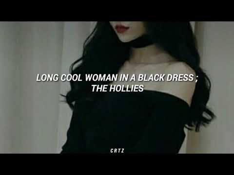 The Hollies // Long Cool Woman in a Black Dress [Subtitulada Español]