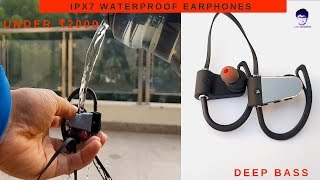 Wings steel Wireless Metallic Earphones Unboxing & Review |Deep Bass [In Hindi]