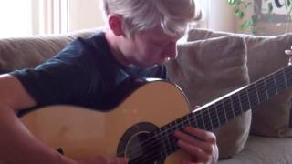 Leo Brower Cancion De Cuna (berceuse) - Played by Luke Griffin