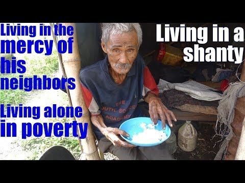 Travel to the Philippines and Meet Real Poor Filipinos. This Filipino Guy Has no Money for Food