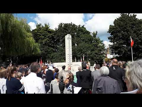 RAF Northolt Polish Air Force Commemoration  2017