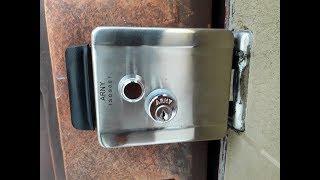 Arny Rim электромеханический замок (фото+видео)