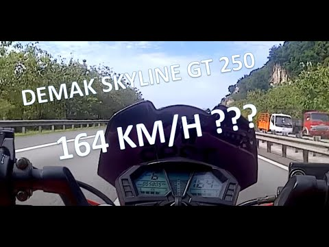 Demak SKYLINE GT250 Speedtest
