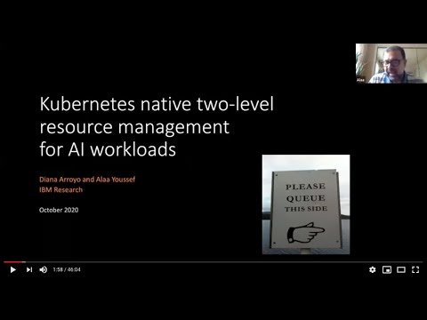 Kubernetes Native Two-level Resource Management for AI/ML Workloads