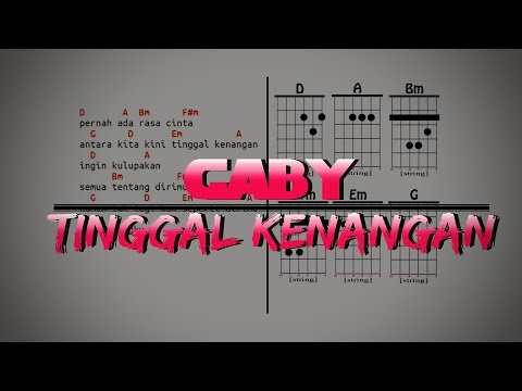 Cover Gaby-Tinggal Kenangan Full Diagram Chord