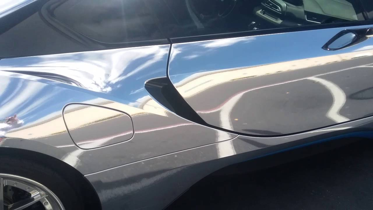 Chrome Bmw I8 Frys Electronics In Sunnyvale Ca Youtube